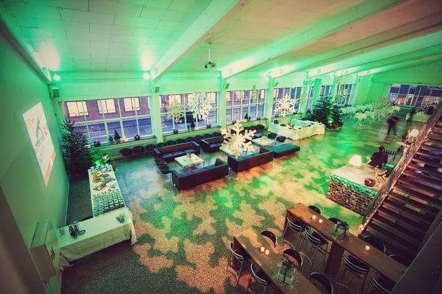 grønt lys indretning firmafest