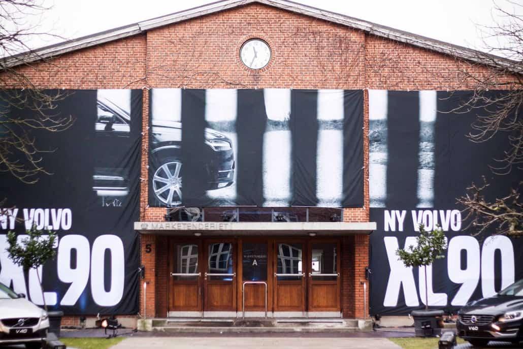Volvo arrangement marketenderiet