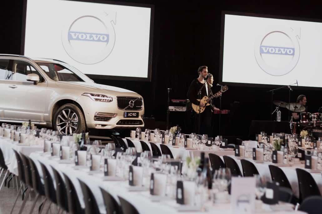 Volvo event marketenderiet